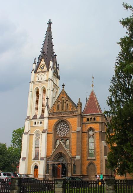 Czeski Cieszyn Kościół